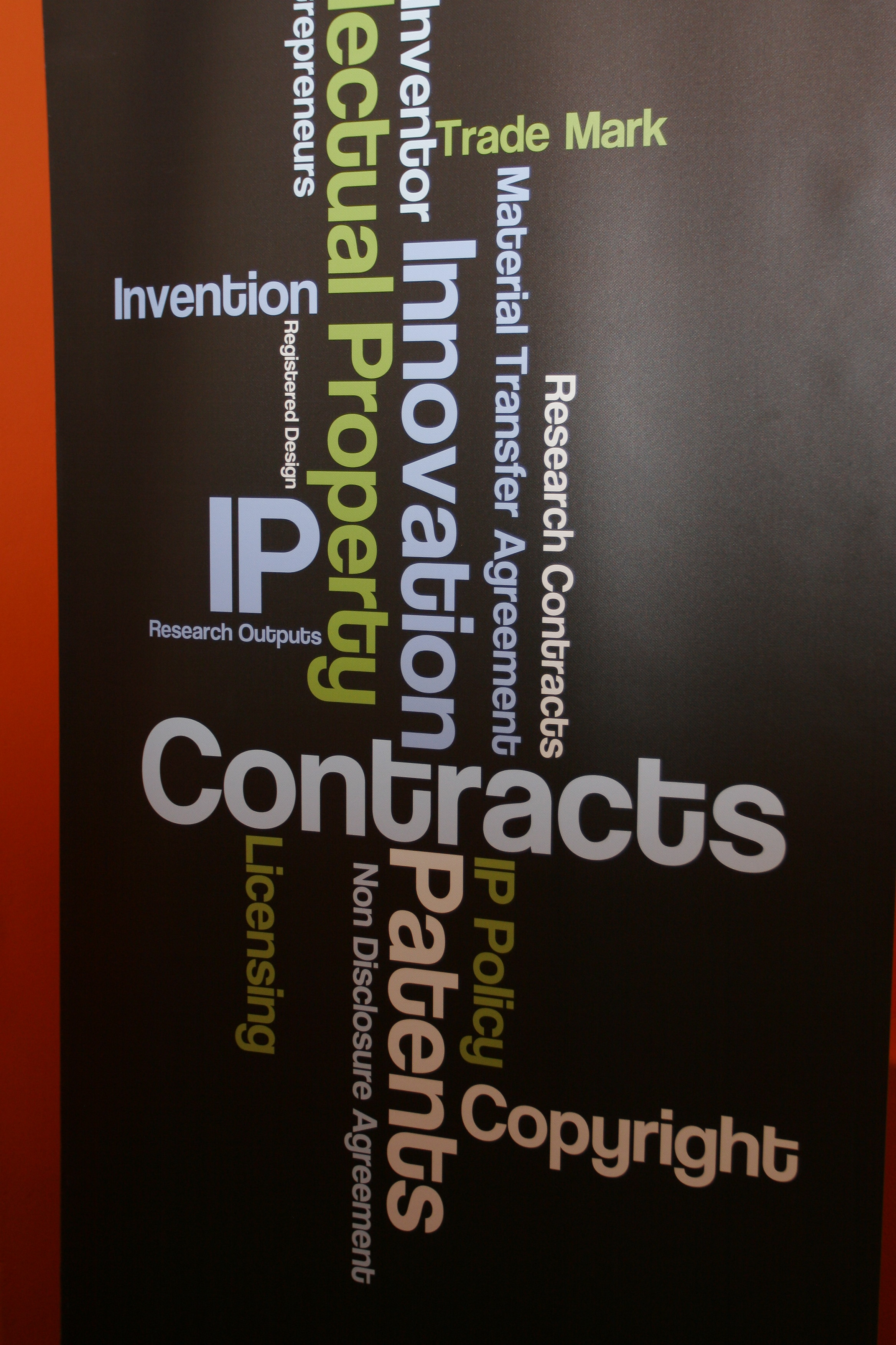 Research contracts and IP Services banner