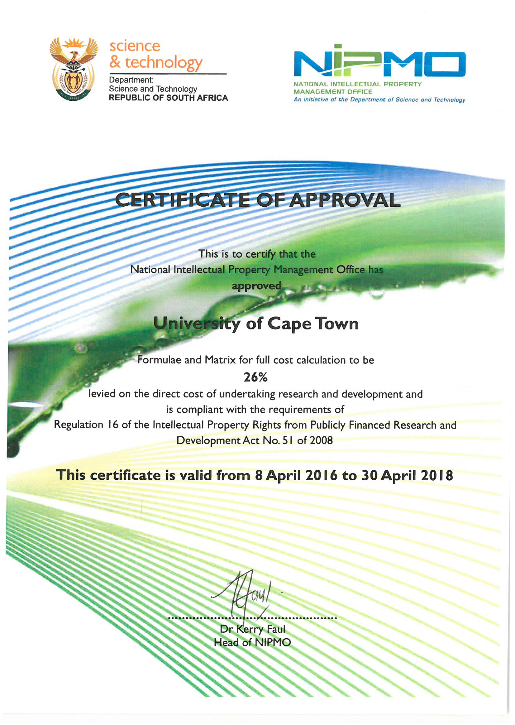 Administrative information research contracts and innovation full cost matrix approval certificate xflitez Image collections